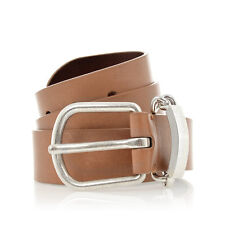 MARTIN MARGIELA MM11 Men Brown Vintage Leather Belt Made in Italy New with Tag