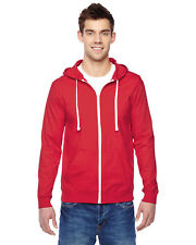 Fruit of the Loom SF60R Mens 6oz 100% Sofspun Cotton Jersey Full-Zip Hoodie