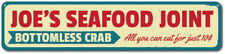Seafood Joint Sign, Crab Sign, Personalized Kitchen Sign, Custom ENSA1001336