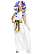 Gold And Royal Blue King Tut Pharaoh Egyptian Costume Headpiece Set 40 w