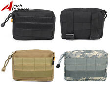 Outdoor Tactical Military Molle Belt Utility EDC Magazine Drop Pouch Ammo Bag