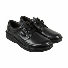 Clarks Natureveldt Mens Black Leather Casual Dress Lace Up Oxfords Shoes