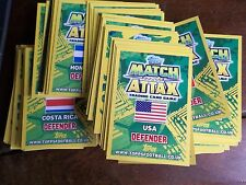 FOOTBALL WORLD CUP 2014 TOPPS MATCH ATTAX CARDS 50 DIFFERENT