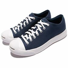 Converse Jack Purcell Modern Navy White Canvas Men Casual Shoes Sneakers 157370C