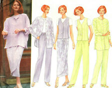 Shirt-Jacket Vest Top Skirt Pants 8 10 12 14 16 18 Butterick Sewing Pattern 4886