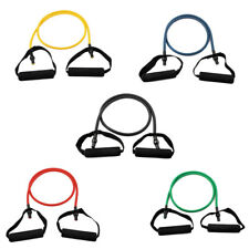 Rubber Stretchy Powerlifting Single Resistance Tube Training Cord Workout Band