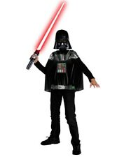 Boys Darth Vader Star Wars T-Shirt Mask and Cape Costume