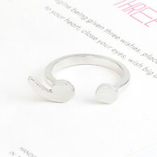 1Pc Semicolon Ring Silver Plated Depression Suicide Prevention Awareness Jewelry