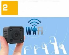Mini SPY Camera WIFI IP Wireless Infrared night vision Hidden nanny Video Record