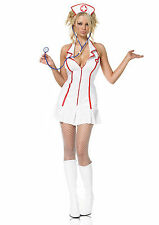 Head Nurse Costume Size XL Leg Avenue Nurse Costume Sexy Nurse Dress 83050