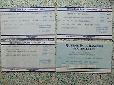 QPR HOME TICKETS 1988-1990: QPR v YOUR TEAM: CHOOSE FROM DROP DOWN LIST!