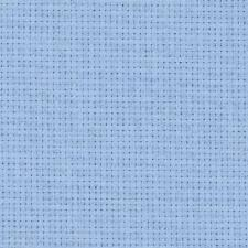 ZWEIGART 14 count Aida-Light Blue (503), 55 x 25 cm ,55 x 50 cms & 110 x 50 cms