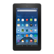 "NEW Amazon Fire Tablet 7"" Black 8 GB Wi-Fi Special offers (5th Generation)"