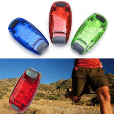 3 LED Light Clip on for Running Bike Rear Lamp Cycling Jogging Safety Warning BB