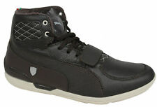 Puma Driving Power 2 Mid SF Ferrari Mens Trainers Brown Leather 304757 02 D5