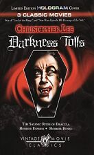 Christopher Lee - Darkness Tolls (DVD, 2005) 3 Classic Movies WORLDWIDE SHIP!