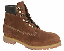 Timberland 6 Inch Premium Mens Boots Brown Leather Lace Up Shoes 92582 U68