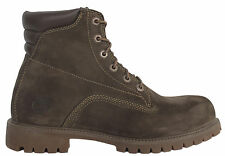 Timberland 6 Inch Basic Mens Boots Brown Leather Lace Up Shoes Casual 37580 T1