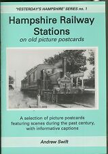 Hampshire Railway Stations: On Old Picture Postcards (Yesterdays