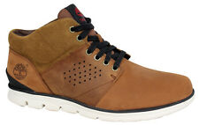 Timberland Half Cab Brown Mens Lace Up Leather Suede Boots A13EP D43