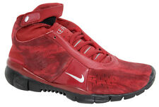 Nike Free Mid 5.0 Womens Trainers Shoes Red Synthetic 308844 602 U68