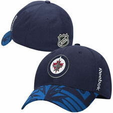Reebok Winnipeg Jets Navy 2015 NHL Draft Structured Flex Hat - NHL