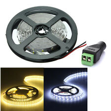 Super Bright 5M 5630 SMD 300 LEDs White Flexible Light Strip DC 12V 5A 60LED/M