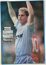 MATCH football magazine retro player picture / poster Manchester City - VARIOUS