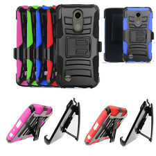 Phone Case For Straight Talk LG Grace 4G LTE Holster Clip with Cover Stand