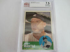 BVG 7.5 Near Mint+ Mickey Mantle New York Yankees HOF 1963 Topps #200 Free Ship