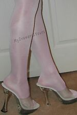 2 Pair Lot PEAVEY WHITE High Gloss Tights PICK COLOR PANTYHOSE A B C D Q