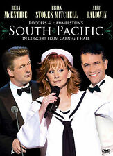 South Pacific - In Concert From Carnegie Hall (DVD, 2006) Brand New Free Ship!