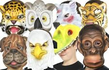 Animal Face Fask Childrens Jungle Safari Kids Fancy Dress Accessory