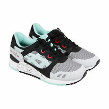 Asics Gel Lyte Iii Ns Mens Gray Textile & Synthetic Athletic Running Shoes