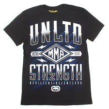 Ecko shirt men tee mens top T S L new unltd mma marc graphic rhino Strength up