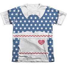 I Love Lucy Lucy Costume Mens Sublimation Poly Cotton Shirt White