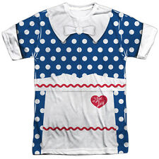 I Love Lucy Lucy Costume Mens Sublimation Polyester Shirt White