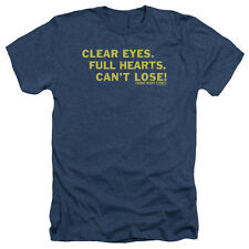 Friday Night Lights Clear Eyes Mens Heather Shirt NAVY