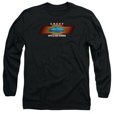 Chevy Chevy We'Ll Be There Tv Spot Mens Long Sleeve Shirt Black