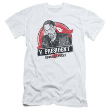 Sons Of Anarchy Vice President Mens Slim Fit Shirt