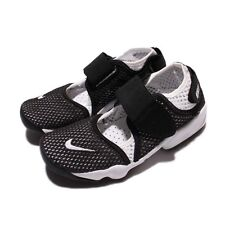 Nike Rift BR Breeze GS/PS Boys Kids Black White Casual Shoes Sneakers 829970-011