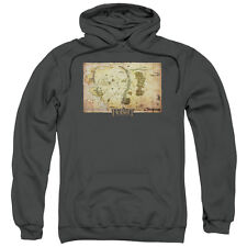 The Hobbit Middle Earth Map Mens Pullover Hoodie