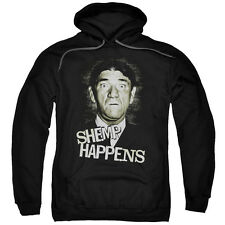 Three Stoogies Slapstick Famous Comedy Group Shemp Happens Adult PullOver Hoodie