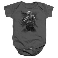 Scott Weiland Weiland On Stage Unisex Baby Snapsuit Charcoal