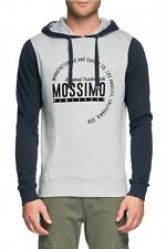 Mossimo Men's Middlefield Cotton Poly Fleece Hoody Grey Marle BNWT 30% OFF