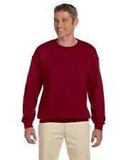 Gildan Sweat Shirt 18000 Men's Heavy Blend 8 oz 50/50 Fleece Crew Activewear