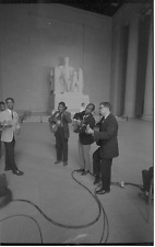 Photo 1963 Men band Civil Rights Guitar African American Washington D.C. Lincoln