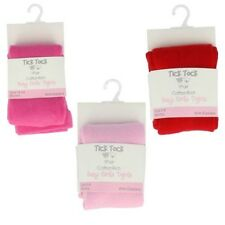 Baby Girls Tick Tock Cotton Rich Tights Label 45B116 - D