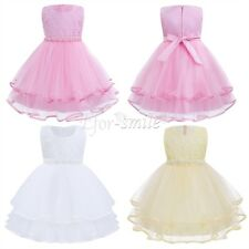Flower GIRL Princess Dress Kid Baby Party Wedding Pageant Bridesmaid Dresses