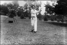 Photo Sports Golf Francis Ouimet swinging golf club